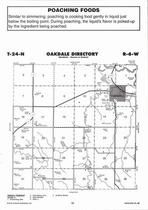 Oakdale Township, Cedar Creek, Elkhorn River, Directory Map, Antelope County 2006
